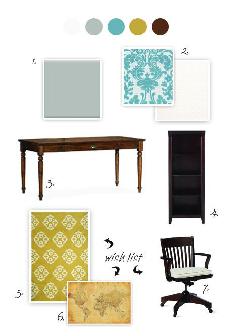 Office color palette Beige Office Megans Moments Office Color Palette Redo Megans Moments