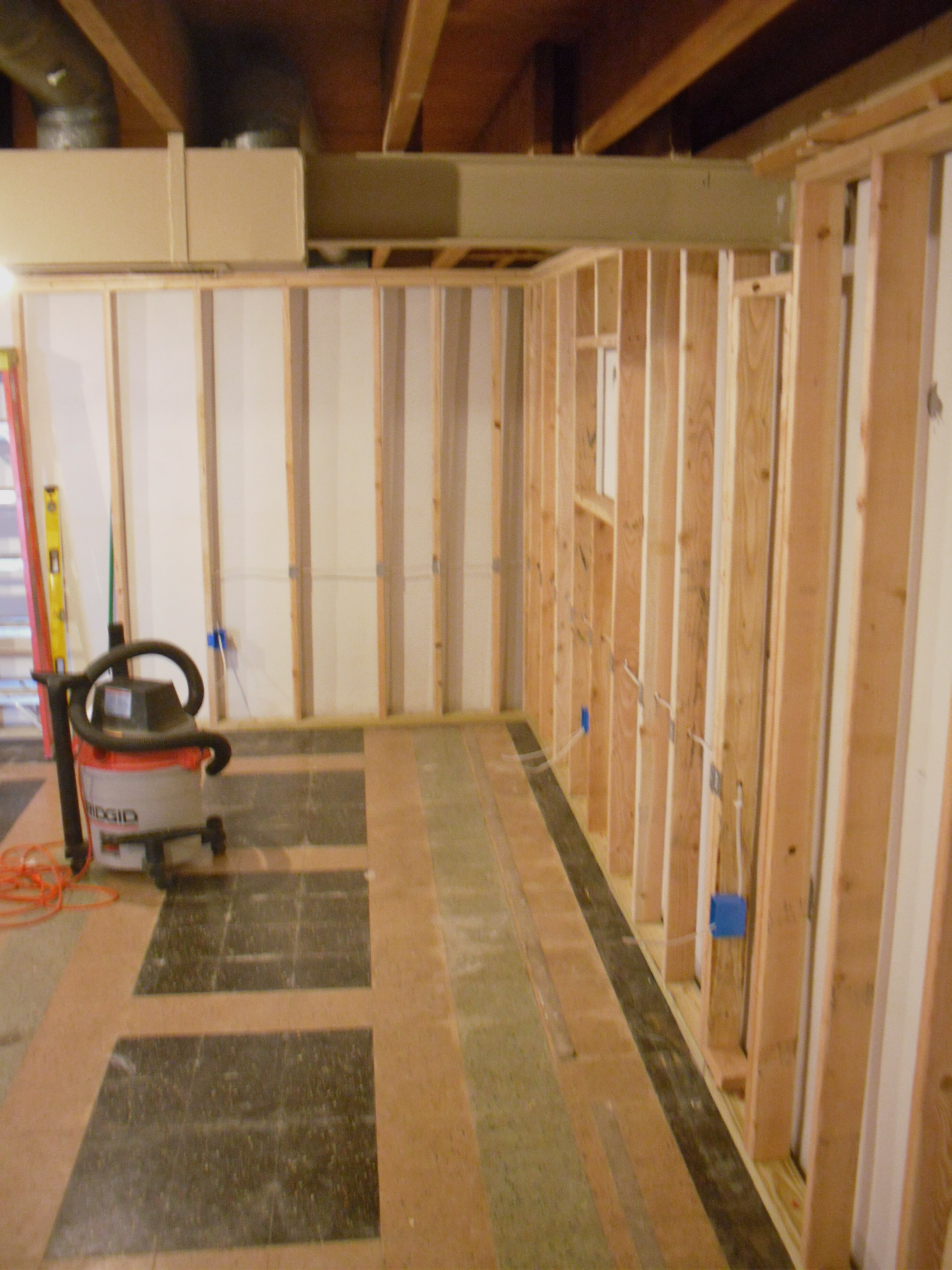 You Can See The New Door Frame To The Right Of The Bathroom, And You Can  Barely See The New Doorway ...