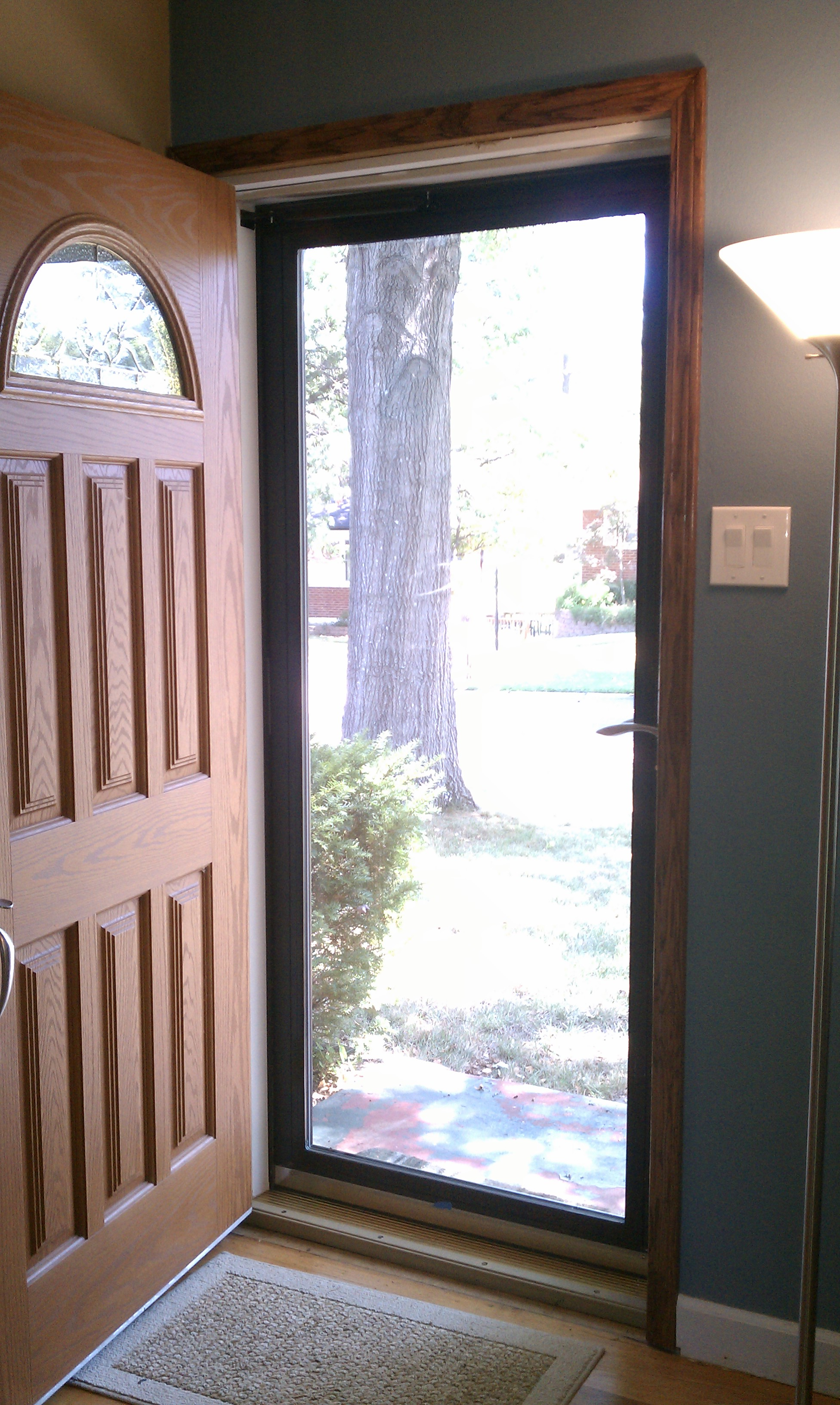 new front door is finally done � megans moments