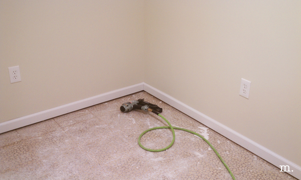 install baseboard after carpet