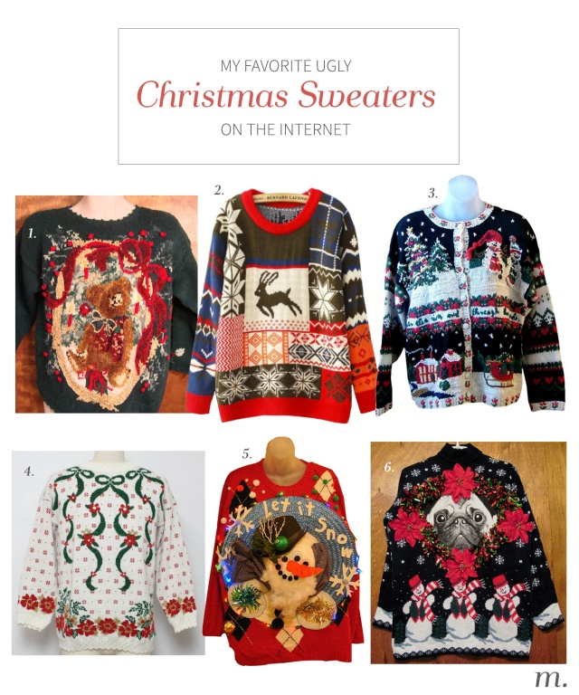 ChristmasSweaters