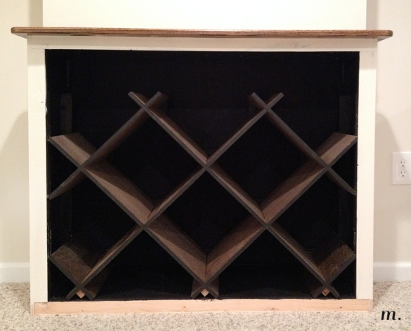 DIY Plans Diamond Wine Rack Wooden PDF bar plans free – third85umy